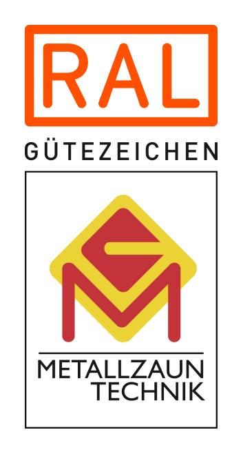 Gütezeichen: Metallzaun Technik